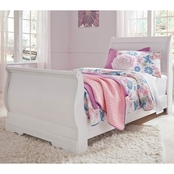 Ashley Anarasia Sleigh Bed
