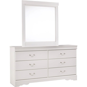 Ashley Anarasia Dresser and Mirror Set