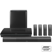 Bose Lifestyle 650 Home Entertainment System with OmniJewel Speakers