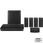 Bose Lifestyle 600 Home Entertainment System with Jewel Cube Speakers