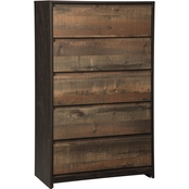 Signature Design by Ashley Windlore 5 Drawer Chest