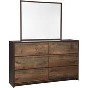 Signature Design by Ashley Windlore Dresser and Mirror Set