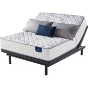 Serta Perfect Sleeper Select Evermoore Firm Mattress and Adjustable Foundation Set