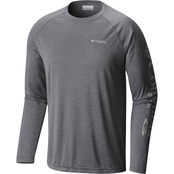 Columbia Terminal Tackle Heather Long Sleeve Tee