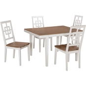 Signature Design by Ashley Brovada Rectangular 5 Pc. Dining Set