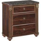 Signature Design by Ashley Gabriela 3 Drawer Nightstand