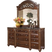 Signature Design by Ashley Gabriela Dresser and Mirror Set
