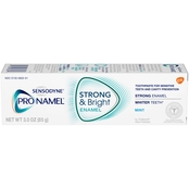 Sensodyne ProNamel Strong and Bright Mint Toothpaste 3 Oz.