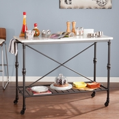 SEI Morenci Kitchen Island