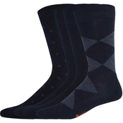 Dockers Men's Argyle Dress Socks 4 pk.