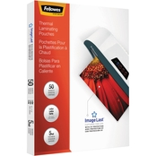 Fellowes ImageLast Laminating Pouches with UV Protection, 5mil, 11.5 x 9, 50 Pk.