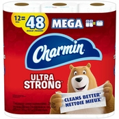Charmin Ultra Strong Mega Roll Toilet paper 12 Pk.