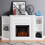 Southern Enterprises Chantilly Electric Fireplace