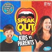 Hasbro Speak Out Kids vs Parents Game