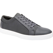 Calvin Klein Igor Brushed CK Emboss Leather Sneakers