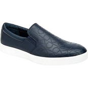 Calvin Klein Ivo Brushed CK Emboss Slip On Sneakers
