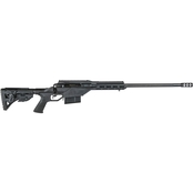 Savage 110 BA Stealth 300 Win Mag 24 in. Barrel 5 Rnd Rifle Black Drake Scope Rail