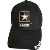 BLYNC Army Star Retired Cap