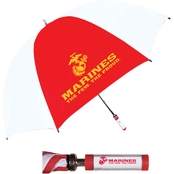 Storm Duds Military Insignia Two Tone ID Handle Golf Umbrella