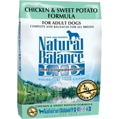 Natural Balance Chicken & Sweet Potato Formula Dry Dog Food