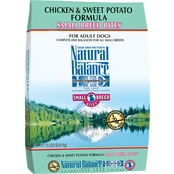Natural Balance Chicken and Sweet Potato Formula Small Breed Bites Dry Dog Food
