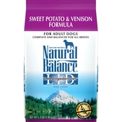 Natural Balance Sweet Potato and Venison Formula Small Breed Bites Dry Dog Food