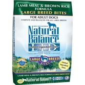 Natural Balance Lamb Meal & Brown Rice Formula Large Breed Bites Dry Dog Food