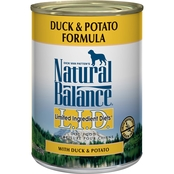 Natural Balance L.I.D. Duck and Potato Formula Canned Dog Food 13 oz.