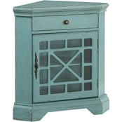 Coast to Coast Accents Corner Accent Cabinet