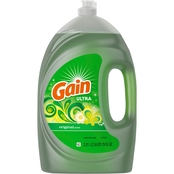Gain Ultra Original Scent Liquid Dish Soap, 75 oz.