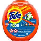 Tide Pods Original Detergent Pacs, 81 ct.