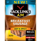 Jack Link's Hot and Spicy AM Breakfast Sausage 4.4 Oz.