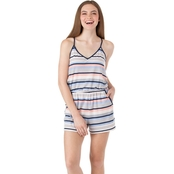 Joe B Juniors Stripe Racerback Romper