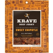 Krave Sweet Chipotle Beef Jerky 2.7 oz.