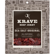 Krave Sea Salt Original Beef Jerky 2.7 oz.
