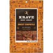 Krave Sweet Chipotle Beef Jerky 6.6 oz.