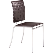 Zuo Criss Cross Dining Chair 4 Pk.