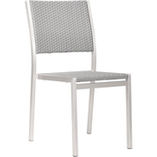 Zuo Metropolitan Armless Dining Chair 2 Pk.