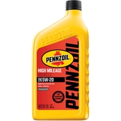 Pennzoil High Mileage Vehicle 5W-20 Motor Oil