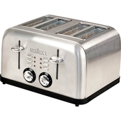 Salton Electronic Stainless Steel Four Slice Toaster