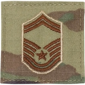 Air Force Chevron Senior Master Sergeant E-8 Velcro (OCP) 2 pk.