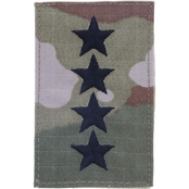 Air Force Chief of Staff (Gen) Velcro Rank O-10 (OCP)