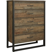 Signature Design by Ashley Sommerford Five Drawer Chest