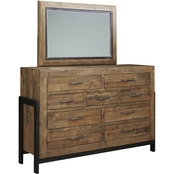 Signature Design by Ashley Sommerford Dresser and Mirror Set