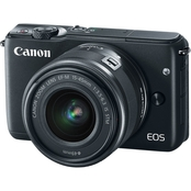 Canon EOS M10 18MP Camera with EF-M 15-45mm IS STM + EF-M 55-200mm IS STM Kit