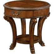 A. R. T. Furniture Old World Round End Table