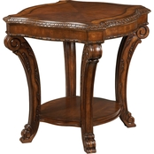 A. R. T. Furniture Old World Rectangular End Table