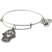 Alex And Ani Head Of Fatima Charm Bangle