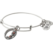Alex And Ani Charity By Design Queen's Crown Charm Bangle