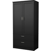 South Shore Acapella Armoire